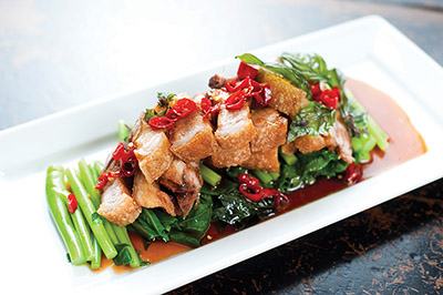 Roast Pork Belly Dish